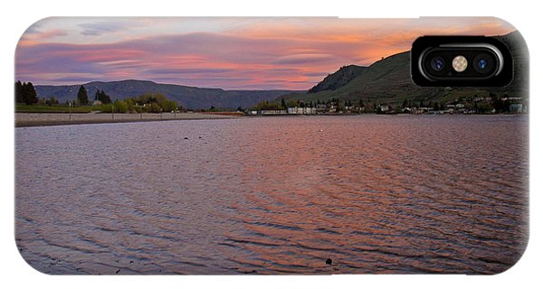 Lake Chelan Sunset IPhone Case