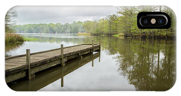 Lake Chicot 01 IPhone Case