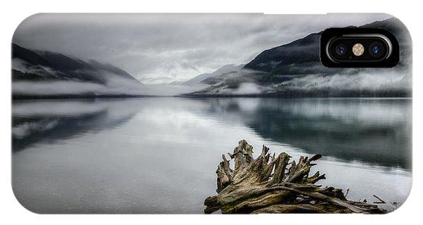 Lake Crescent Relic IPhone Case