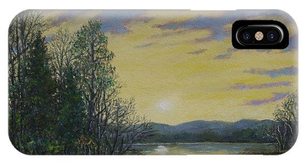 Lake Dawn IPhone Case