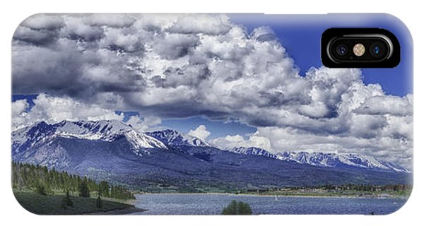 IPhone Case featuring the photograph Lake Dillon by Bitter Buffalo Photography