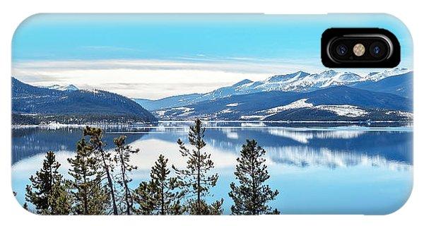 Lake Dillon Colorado IPhone Case