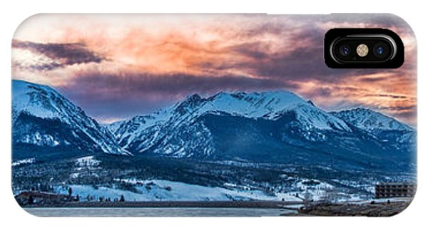 Lake Dillon IPhone Case