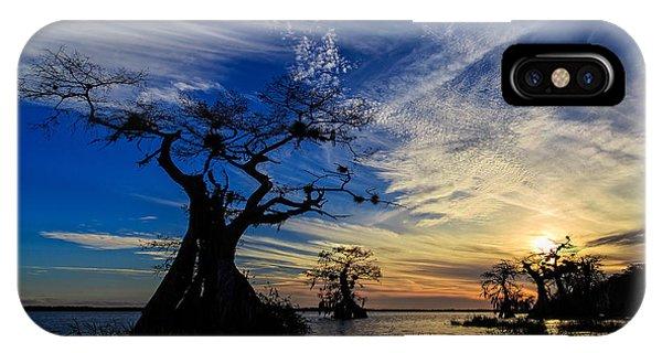Lake Disston Sunset IPhone Case