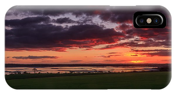 Lake Dumbleyung Sunset IPhone Case