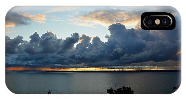 Lake Effect Sky IPhone Case