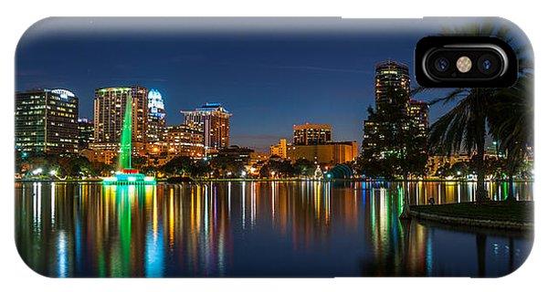 Lake Eola Orlando IPhone Case