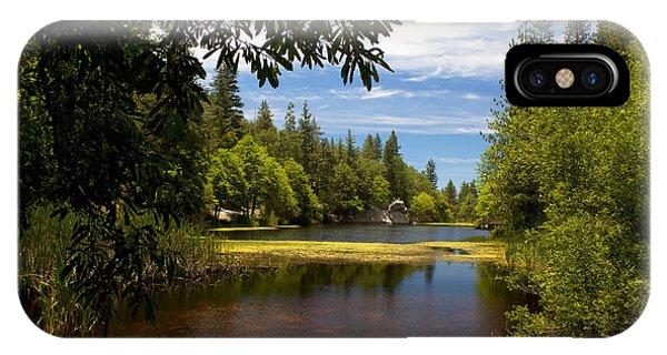 Lake Fulmor View IPhone Case