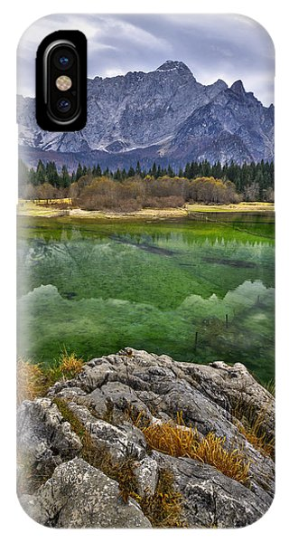 Lake Fusine IPhone Case