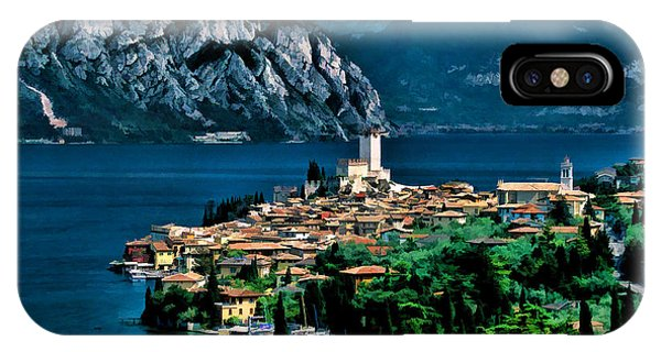 Lake Garda IPhone Case