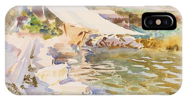 Impressionistic iPhone Case - Lake Garda by John Singer Sargent
