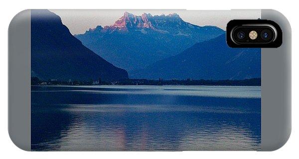 Lake Geneva, Switzerland IPhone Case