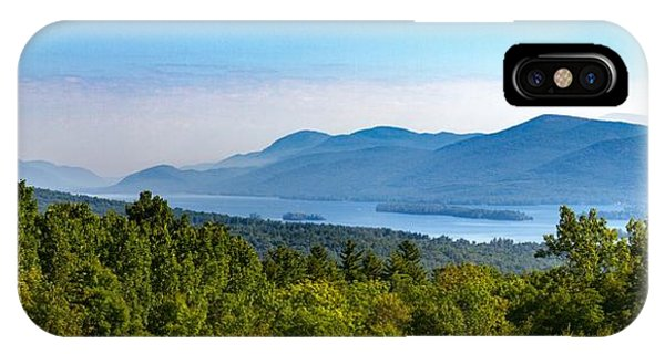 Lake George, Ny And The Adirondack Mountains IPhone Case