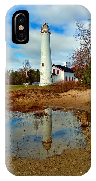 Lake Huron Lighthouse IPhone Case