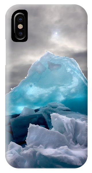 Lake Ice Berg IPhone Case
