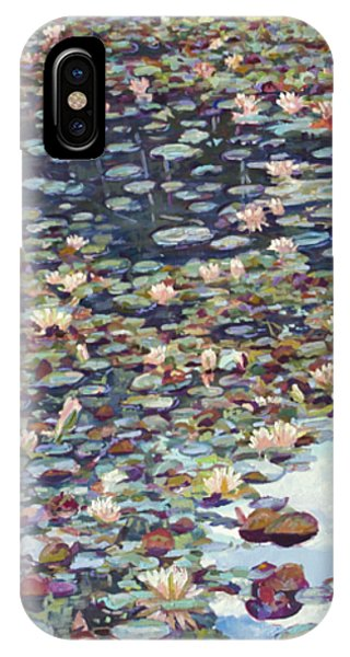 Lake Lenape Lilies IPhone Case