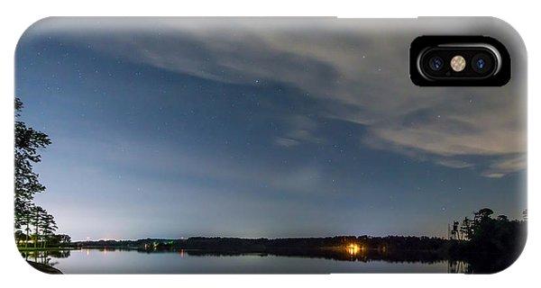 Lake Lights At Night IPhone Case
