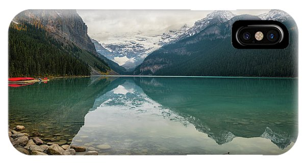 Lake Louise In The Fall IPhone Case
