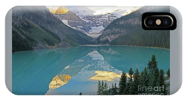 Lake Louise Sunrise IPhone Case