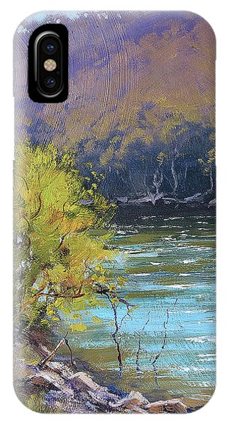 Nature Scene iPhone Case - Lake  Lyell Reflections by Graham Gercken