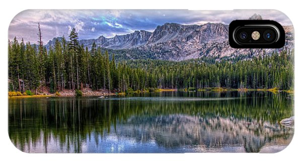 Lake Mamie Panorama IPhone Case