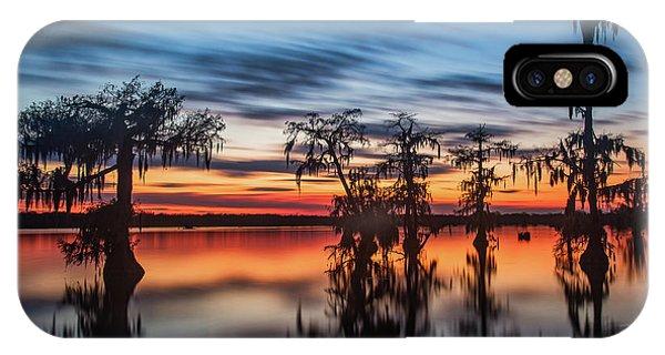 Lake Martin Sunset IPhone Case