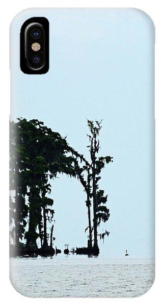 Lake Maurepas Cypress IPhone Case