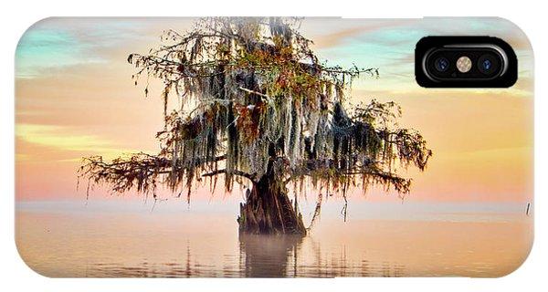 Lake Maurepas In Pastels IPhone Case