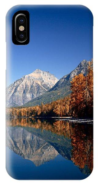 Lake Mcdonald Autumn IPhone Case