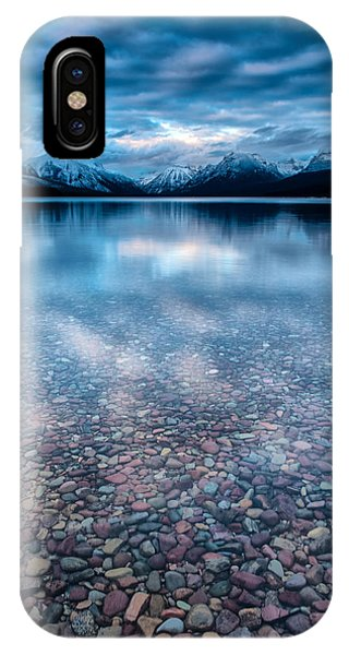 Lake Mcdonald Calm, Glacier National Park IPhone Case