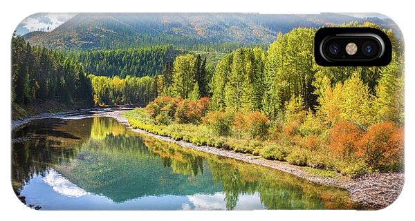 Lake Mcdonald Creek // Glacier National Park  IPhone Case