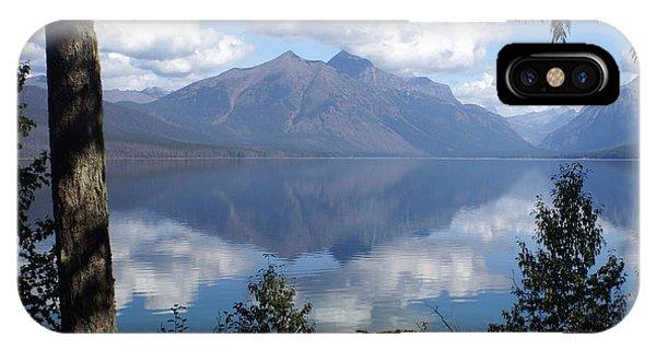 Lake Mcdonald Glacier National Park IPhone Case