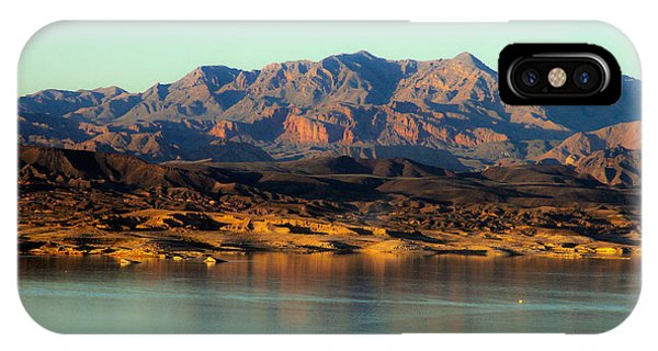 Lake Mead Before Sunset IPhone Case