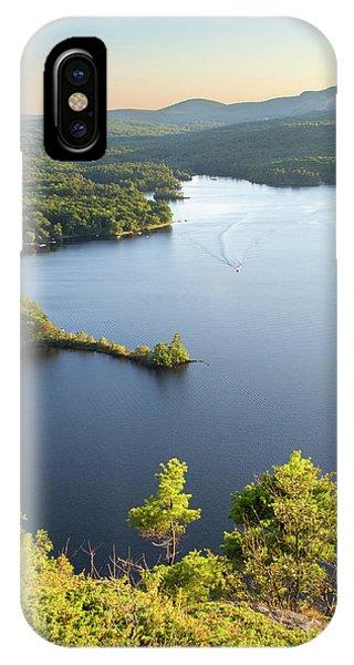 Lake Megunticook, Camden, Maine  -43960-43962 IPhone Case