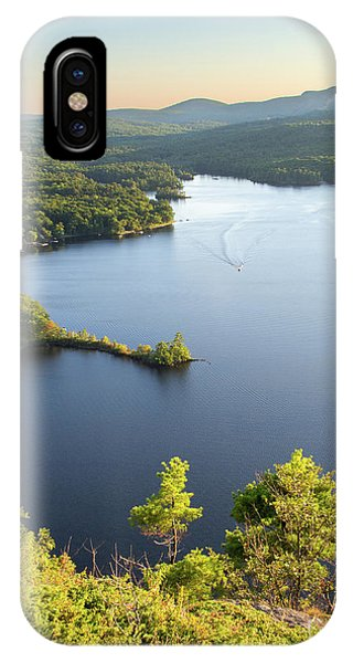 Lake Megunticook, Camden, Maine  -43960-43962 IPhone Case