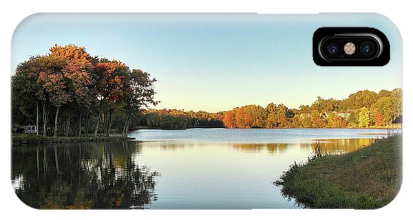 IPhone Case featuring the photograph Lake by Melinda Blackman