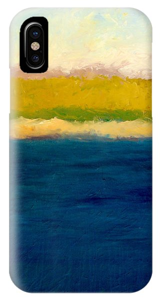 Lake Michigan Beach Abstracted IPhone Case