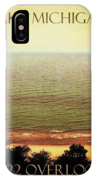 Lake Michigan M-22 Overlook IPhone Case