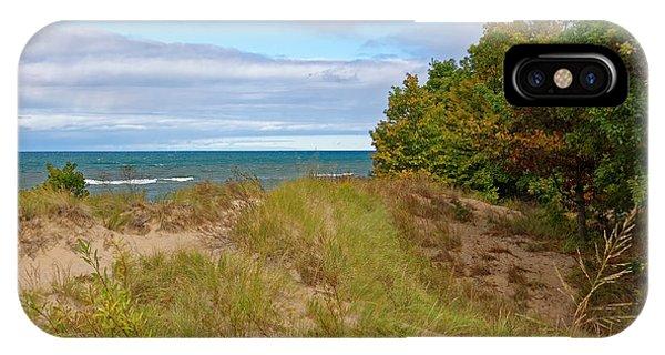 Lake Michigan Shore IPhone Case
