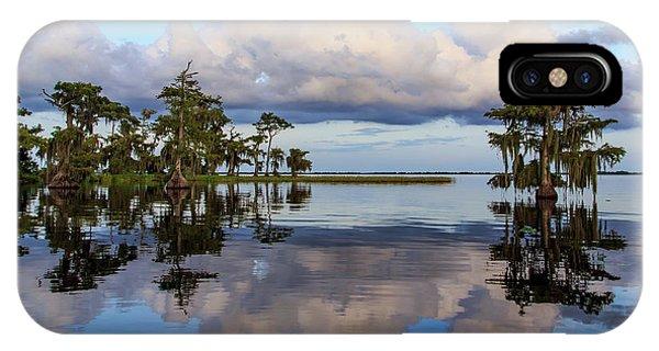 Lake Mirror IPhone Case