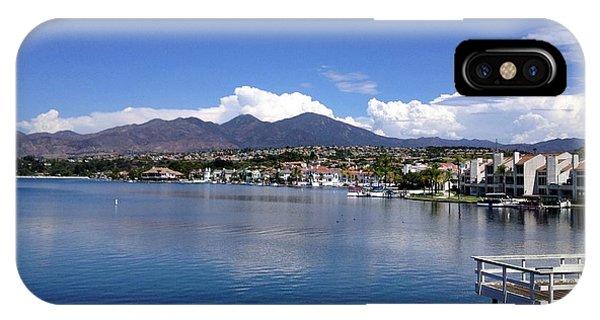 Lake Mission Viejo IPhone Case