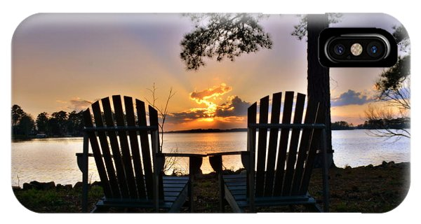 Lake Murray Relaxation IPhone Case