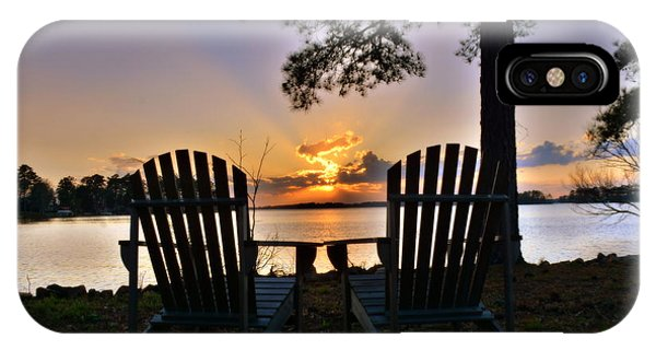 IPhone Case featuring the photograph Lake Murray Relaxation by Lisa Wooten