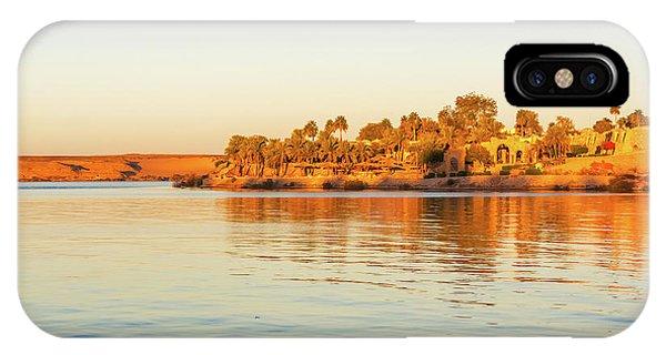 Lake Nasser In Abu Simbel IPhone Case