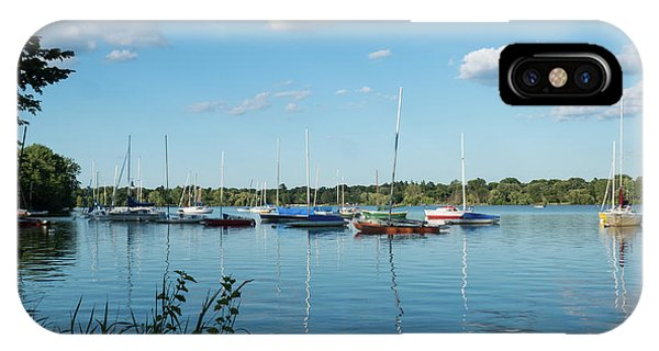 Lake Nokomis Minneapolis City Of Lakes IPhone Case