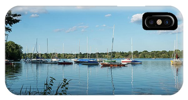 Lake Nokomis Minneapolis City Of Lakes IPhone Case