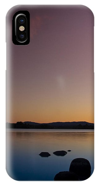 Lake Of Menteith By Sunset IPhone Case