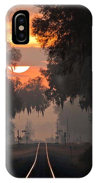 Lake Park Sunrise IPhone Case