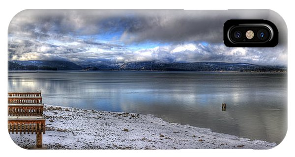 Lake Pend D'oreille At 41 South IPhone Case