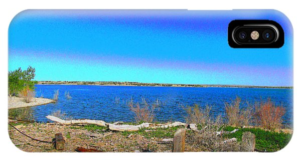 Lake Pueblo Painted IPhone Case